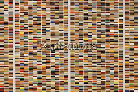 colour samples