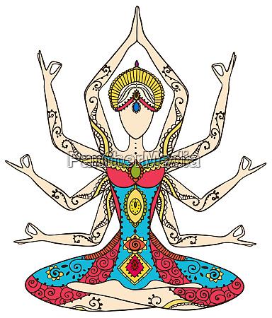 yoga kundalini healing chakras mindfulness spiritual