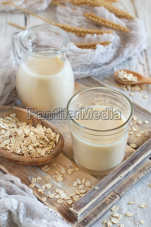 vegan oat milk non dairy alternative