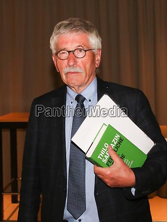 thilo sarrazin german spd politician at