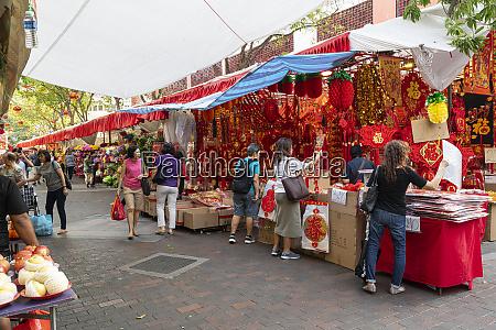 chinese market in waterloo street in