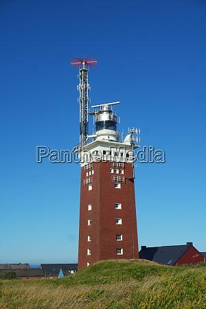lighthouse on helgoland