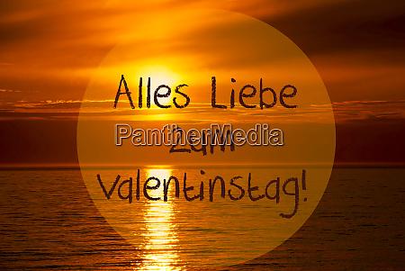 romantic ocean sunset sunrise valentinstag means