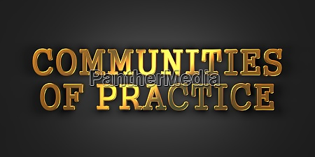 communities of practice educational concept