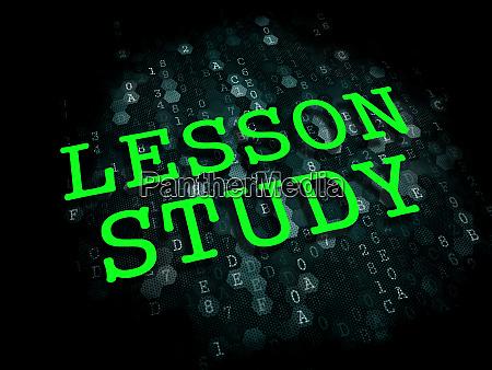 lesson study education concept