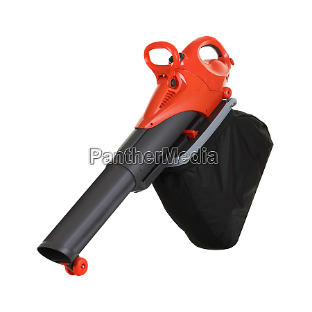 garden leaf blower and vacuum on