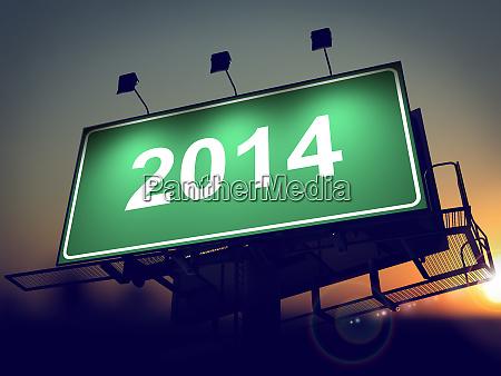 billboard of 2014 year on the