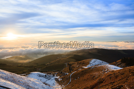 mount grappa landscape italian alps italy