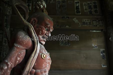 decorative statue of a tokyo temple