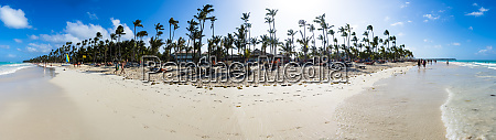 caribbean dominican republic punta cana panoramic