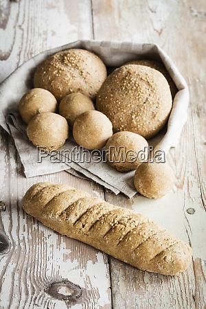 crunchyhome bakedbuns and baguette