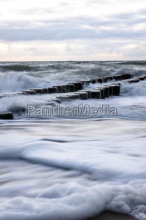 baltic sea at darsser ort mecklenburg
