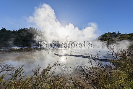 orakei korako geothermal park taupo volcanic