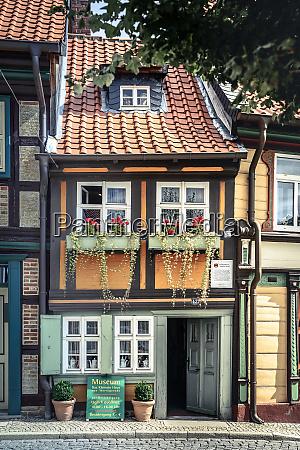 timber framed house wernigerode germany