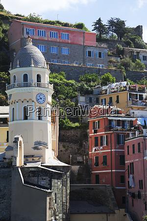 townscape of vernazza cinque terre italy