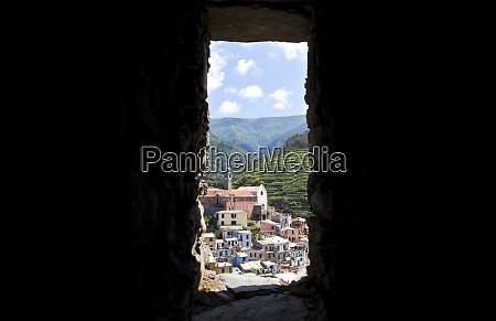 townscape of manarola cinque terre italy