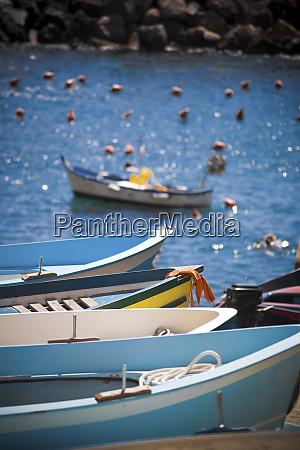 boats at the coast manarola liguria