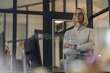 mature businesswoman in office