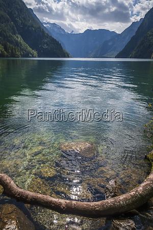 germany upper bavaria lake koenigssee