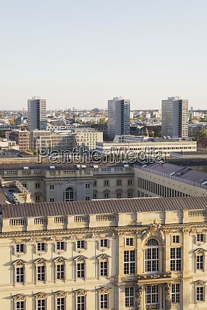 germany berlin aerial view ofhumboldt forum