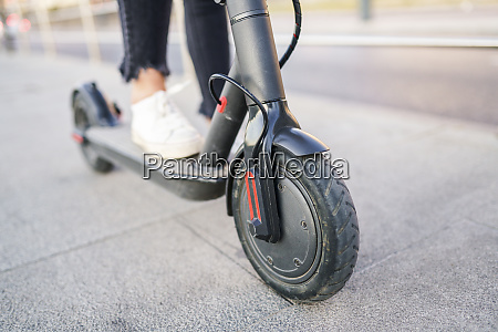 front wheel of electric scooter