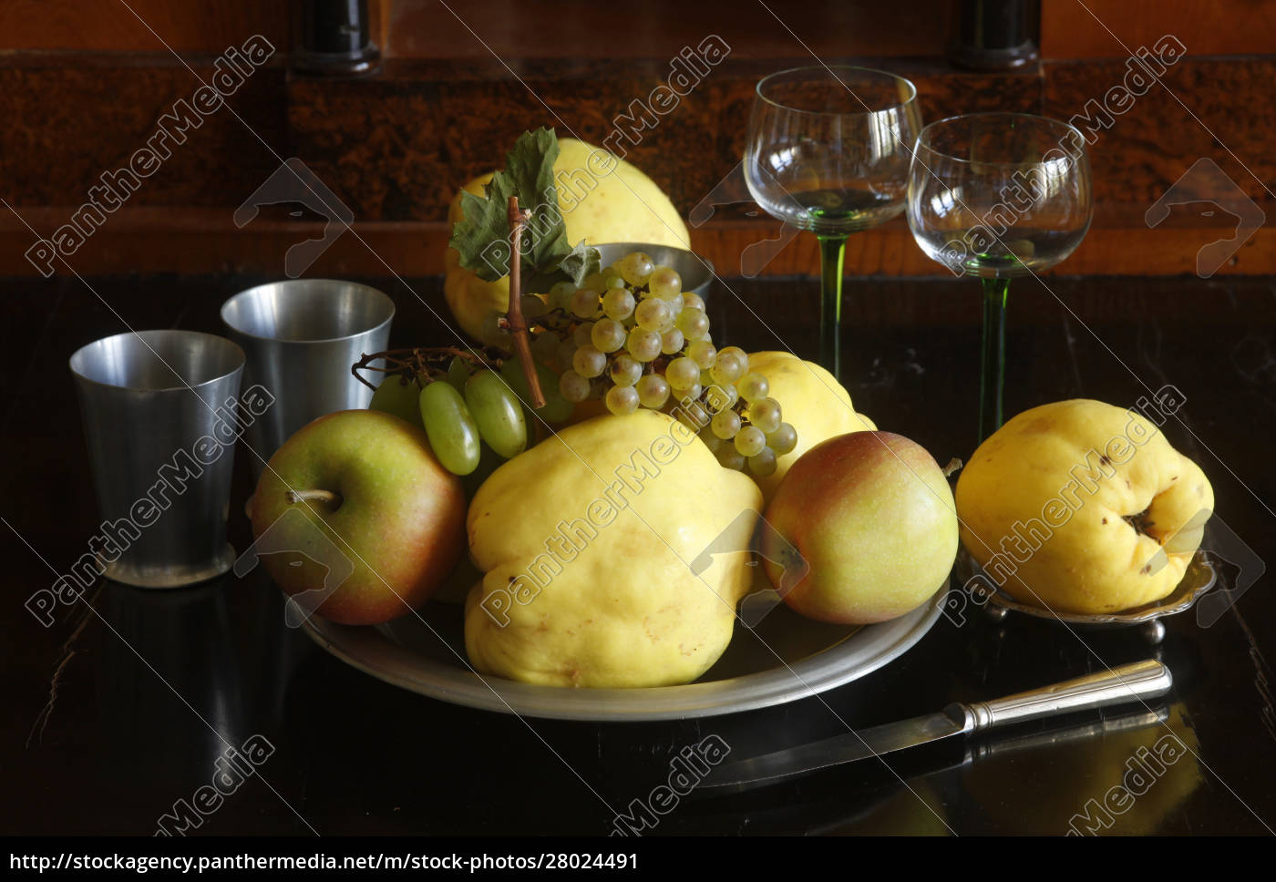still, life, with, quinces, , apples, and - 28024491
