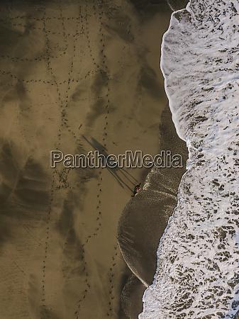 indonesia bali aerial view of horseback