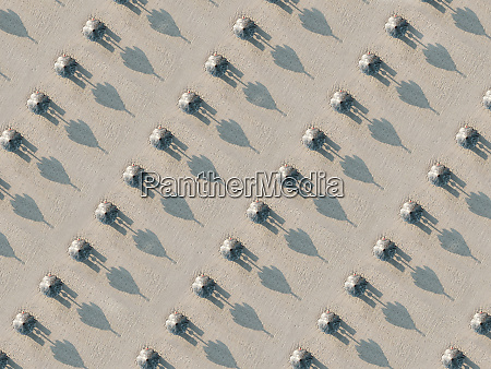 aerial view of beach bali indonesia