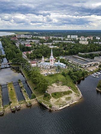 aerial, view, of, annunciation, cathedral, by - 28025247
