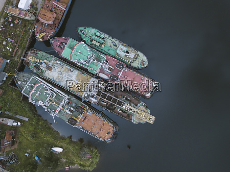 drone, shot, of, ships, in, ladoga - 28025759