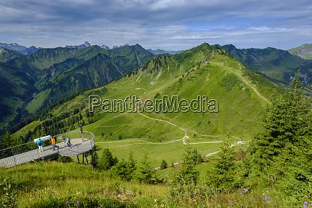 austria vorarlberg mittelberg observation point at