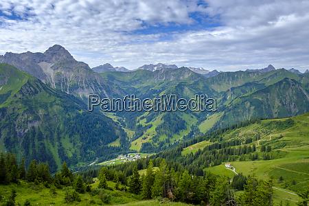 austria vorarlberg mittelberg green scenic valley