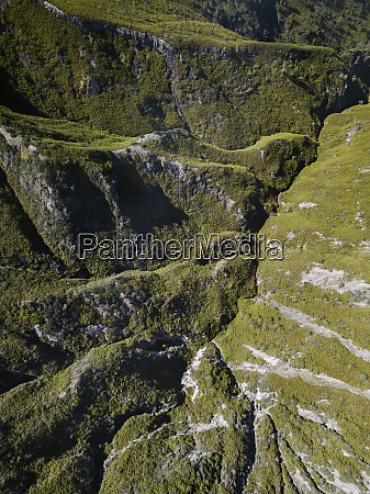indonesia java aerial view of green