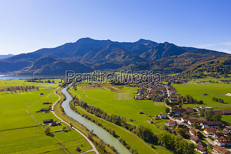 germany bavaria upper bavaria aerial view