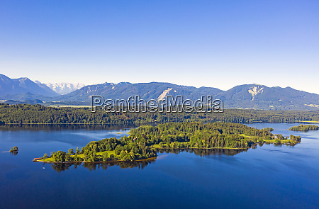 scenic view of lake staffelsee and