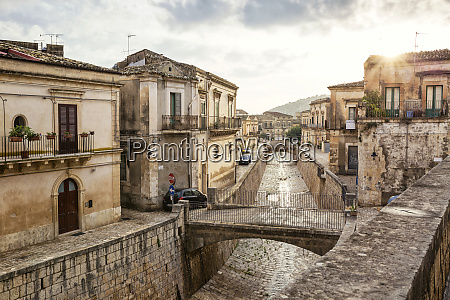old town scicli province of ragusa