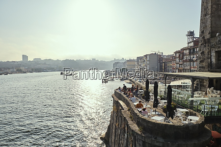 portugal porto waterfront restaurant seen on