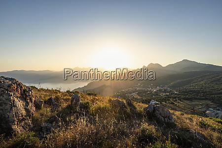 view from belvedere de saliccio at