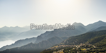 view from belvedere de saliccio piana
