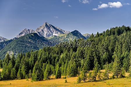 austria tyrol scenic view of tannheim