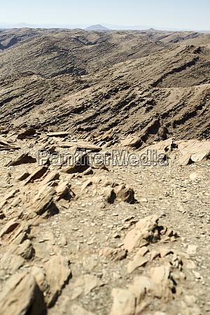 arid landscape namibia