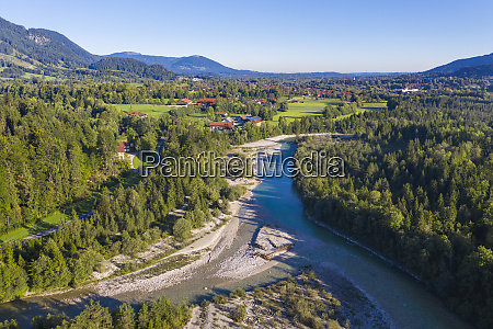 germany bavaria aerial view of land