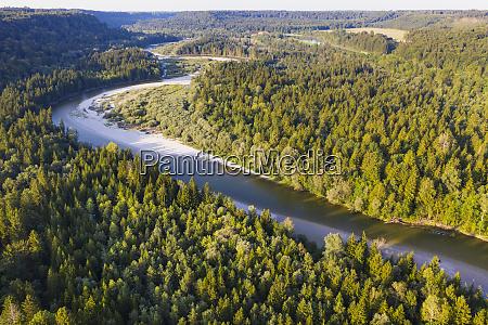 germany bavaria schftlarn aerial view of
