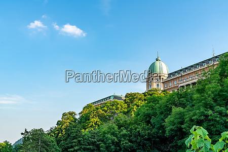 low angle view of royal palace
