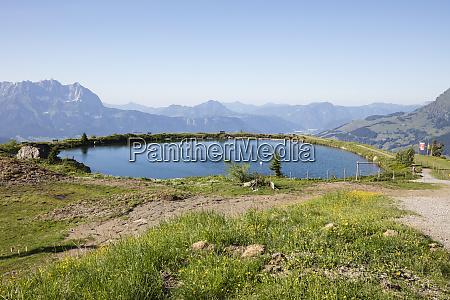 scenic view of lake ehrenbachhoehe against