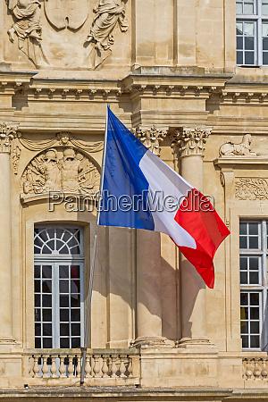 sunny france flag
