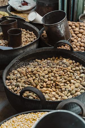 fresh pistachios at spice market fez