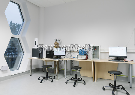 workplace in a laboratory