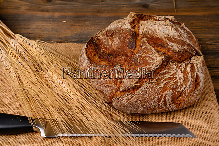 one fresh whole grain bread from