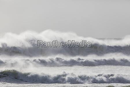new zealand southtaranakidistrict pungarehu waves splashing